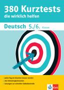 380 Kurztests Deutsch 5./6. Klasse