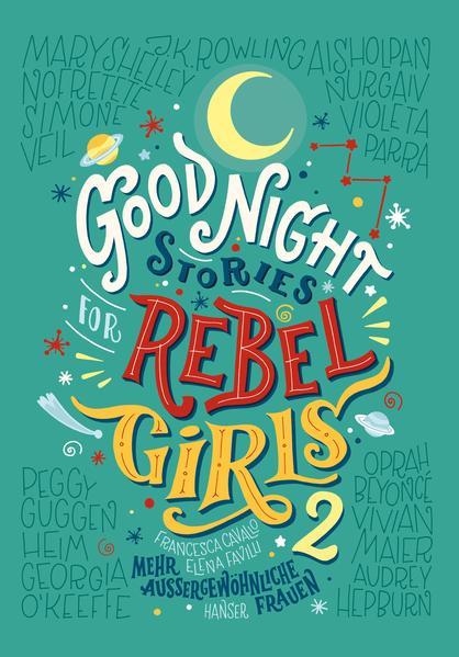 Good Night Stories for Rebel Girls 2 als Buch