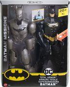 Mattel - DC Batman Deluxe Batman Figur mit Mega-Ausrüstung und Geräuschen, 30 cm