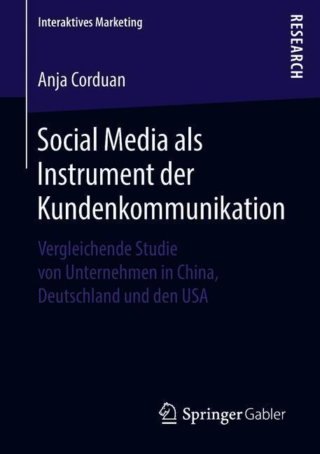 Social Media als Instrument der Kundenkommunika...
