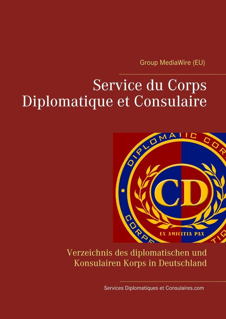 Service du Corps Diplomatique et Consulaire als Buch