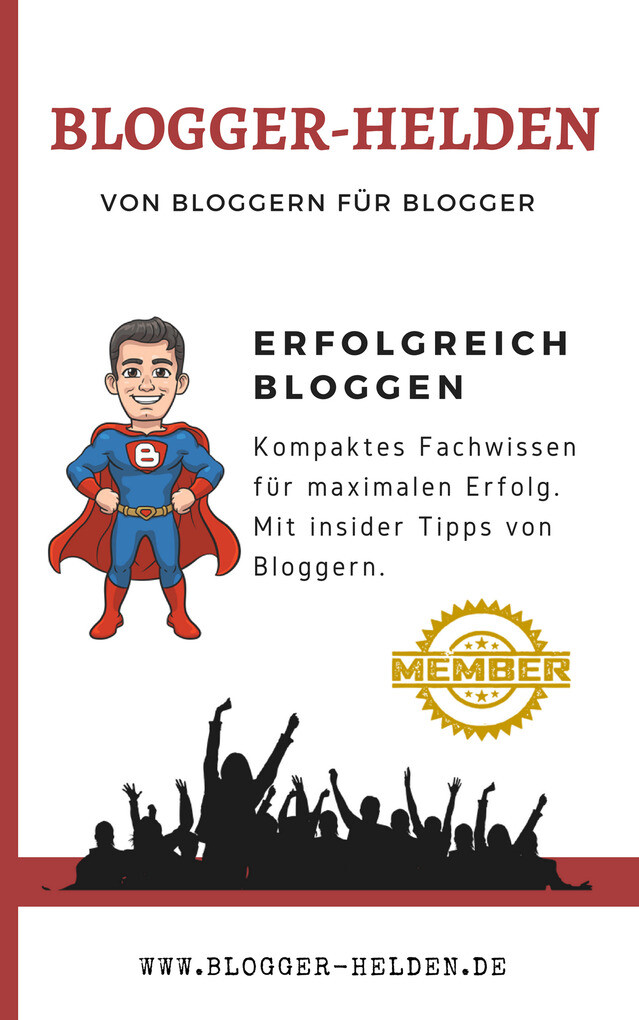 Blogger Helden als eBook Download von Rino Gmür