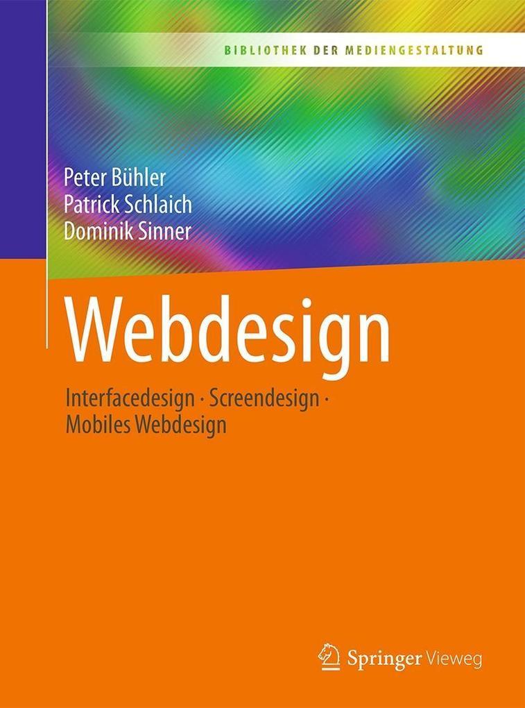 Webdesign als eBook Download von Peter Bühler, ...