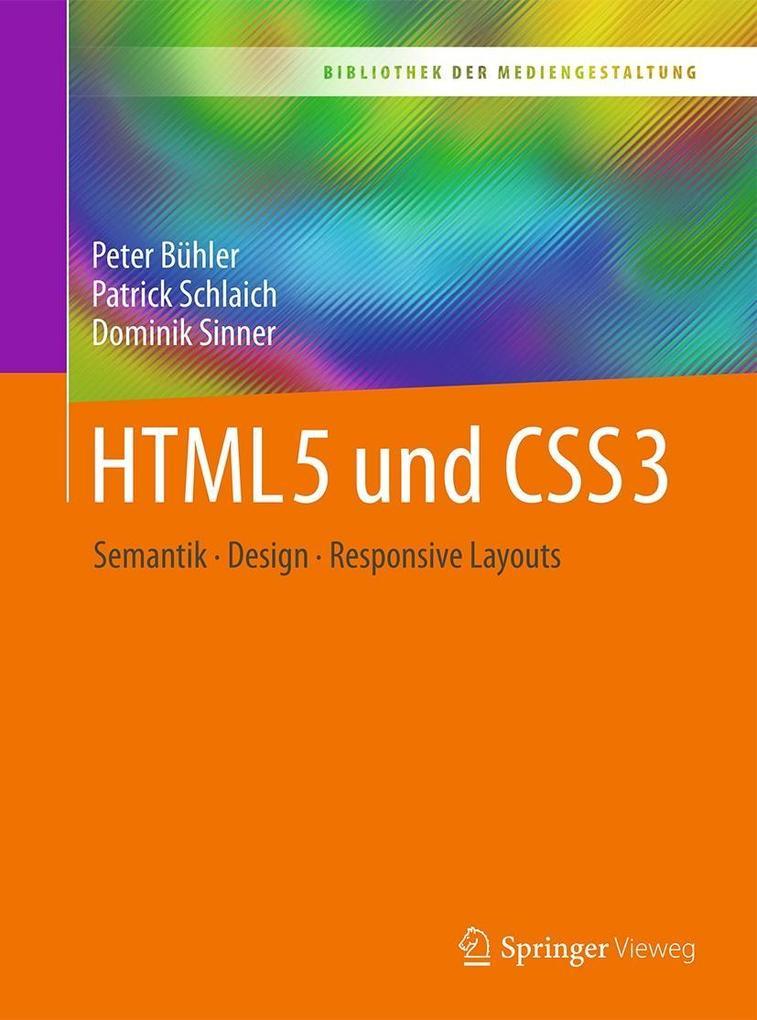 HTML5 und CSS3 als eBook Download von Peter Büh...