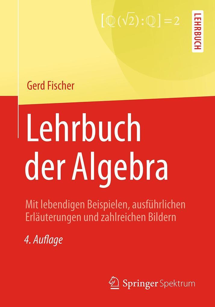 Lehrbuch der Algebra als eBook