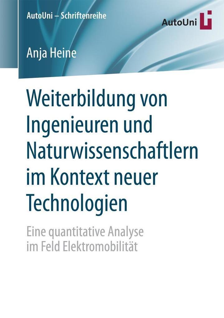 Weiterbildung von Ingenieuren und Naturwissensc...