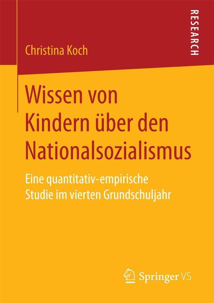 Wissen von Kindern über den Nationalsozialismus...