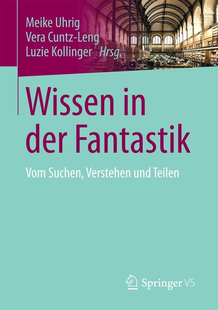 Wissen in der Fantastik als eBook Download von