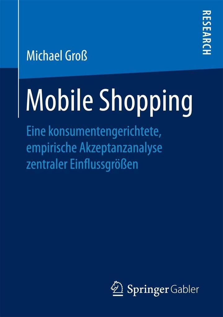 Mobile Shopping als eBook Download von Michael ...