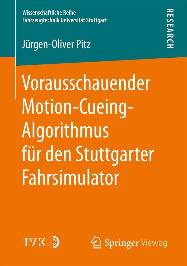 Vorausschauender Motion-Cueing-Algorithmus für ...