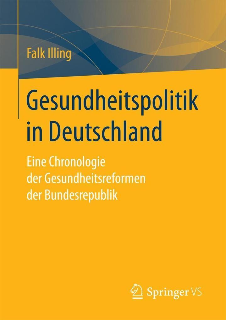 Gesundheitspolitik in Deutschland als eBook Dow...