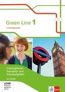Green Line 1. 2. Fremdsprache. Trainingsbuch Standard- und Schulaufgaben, Heft mit Lösungen und CD-ROM Klasse 6