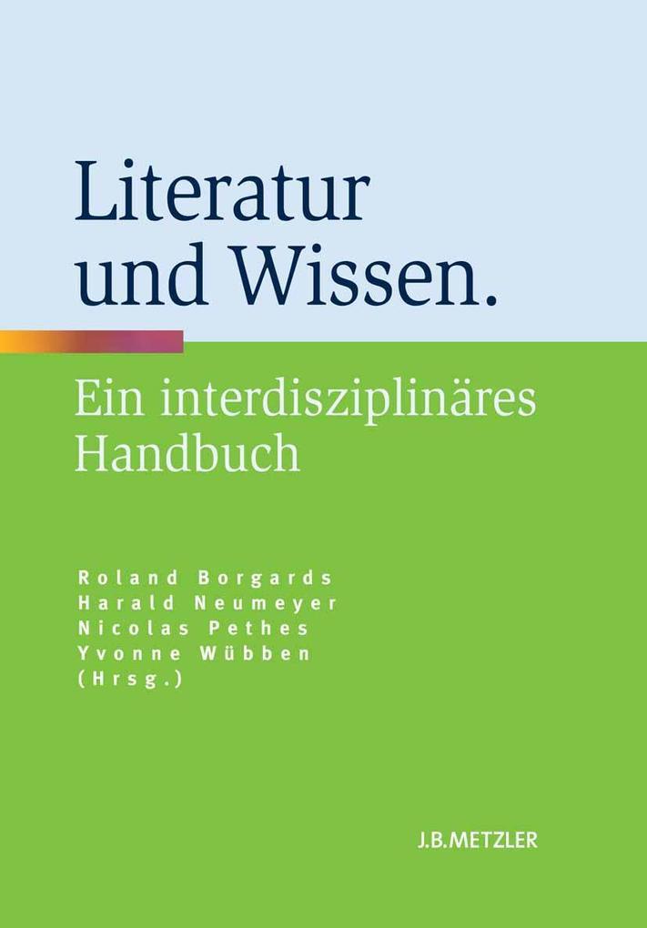 Literatur und Wissen als eBook Download von