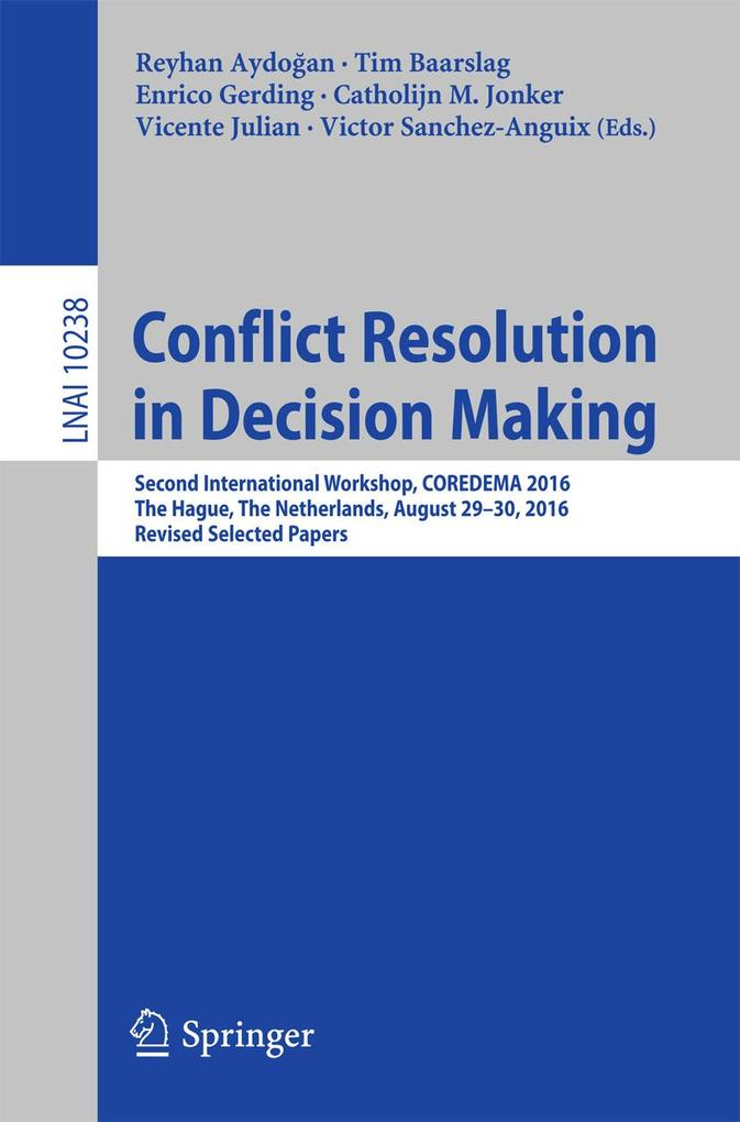 Conflict Resolution in Decision Making als eBoo...