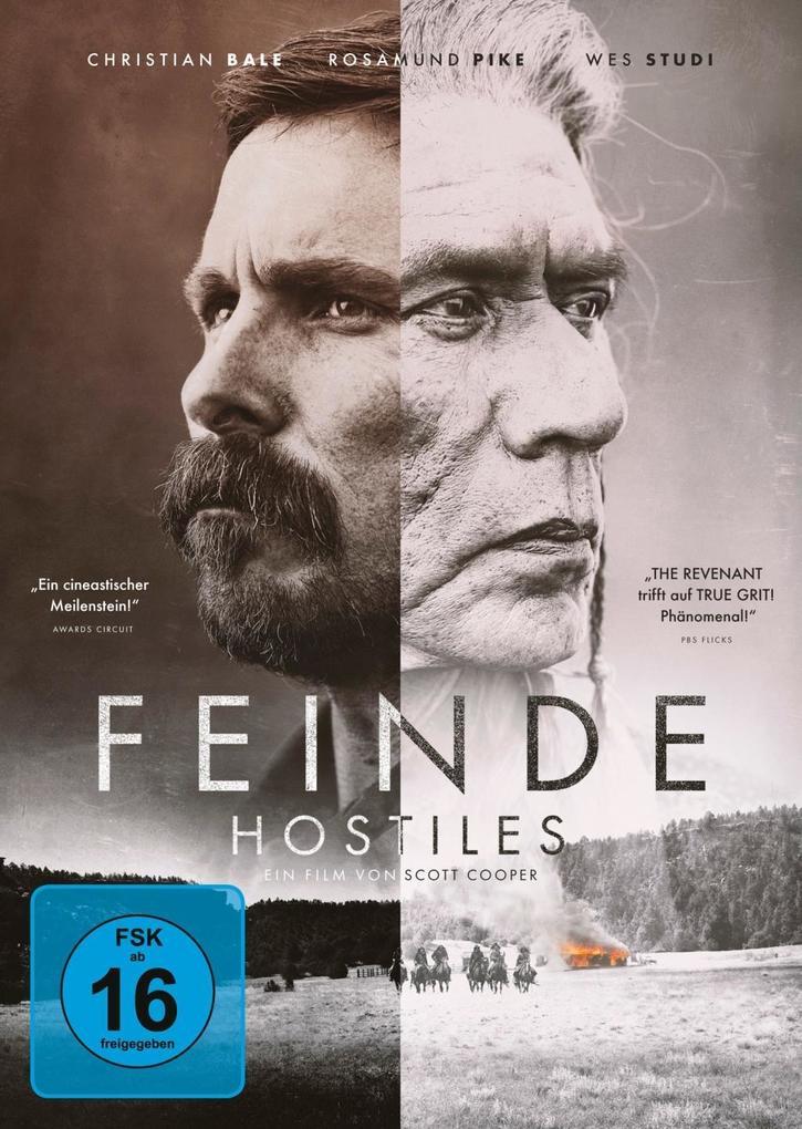 Feinde - Hostiles als DVD