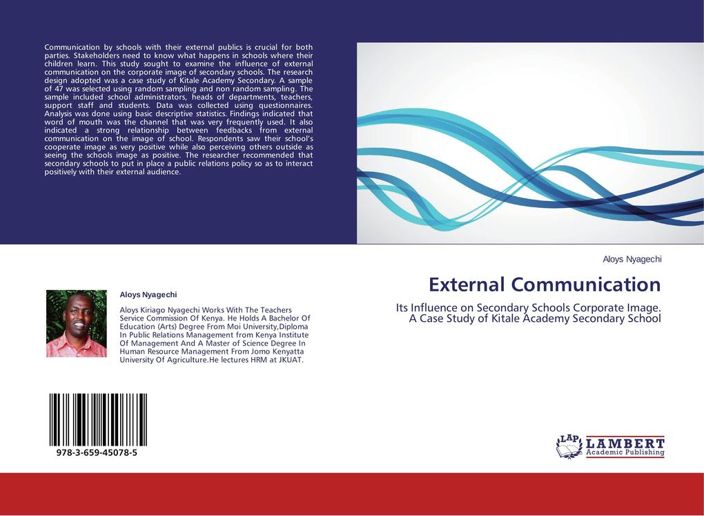 External Communication als Buch von Aloys Nyagechi
