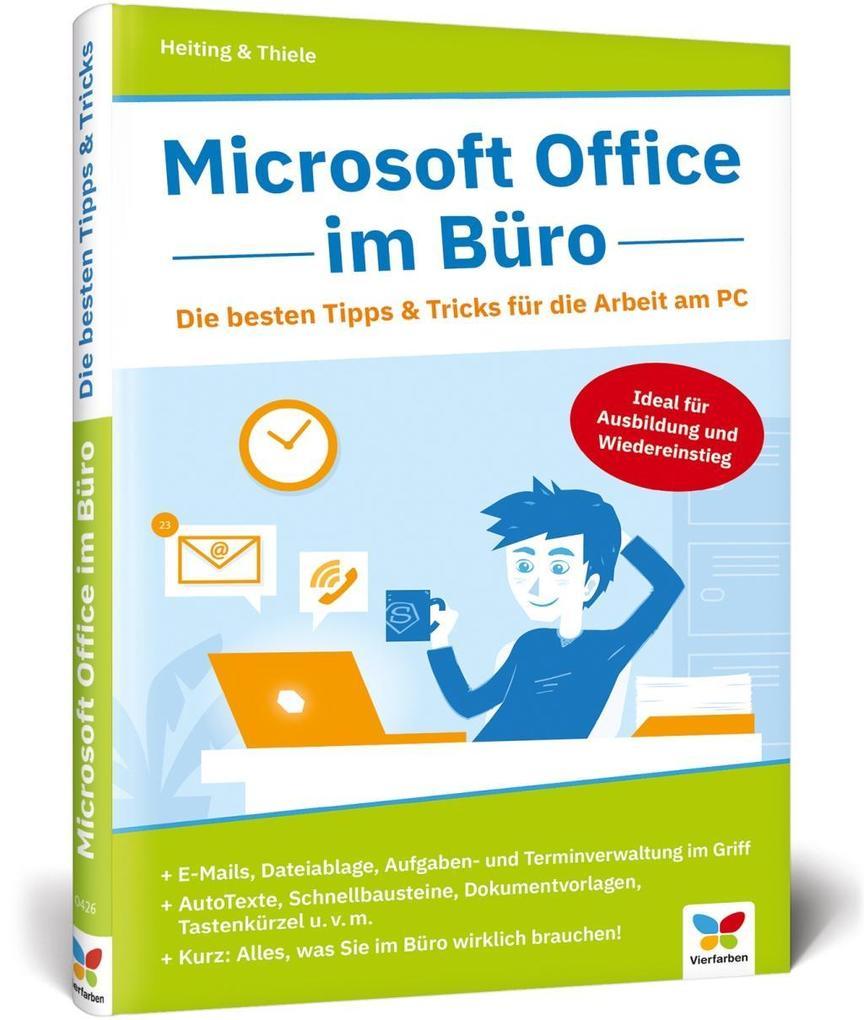 Microsoft Office im Büro als Buch (gebunden)