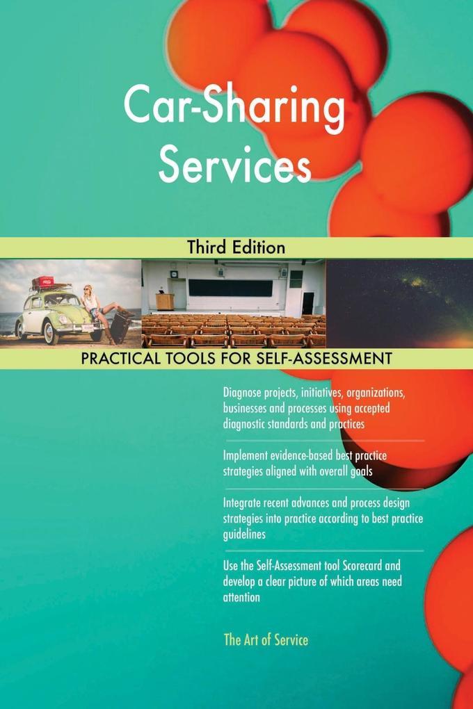 Car-Sharing Services Third Edition als eBook Do...