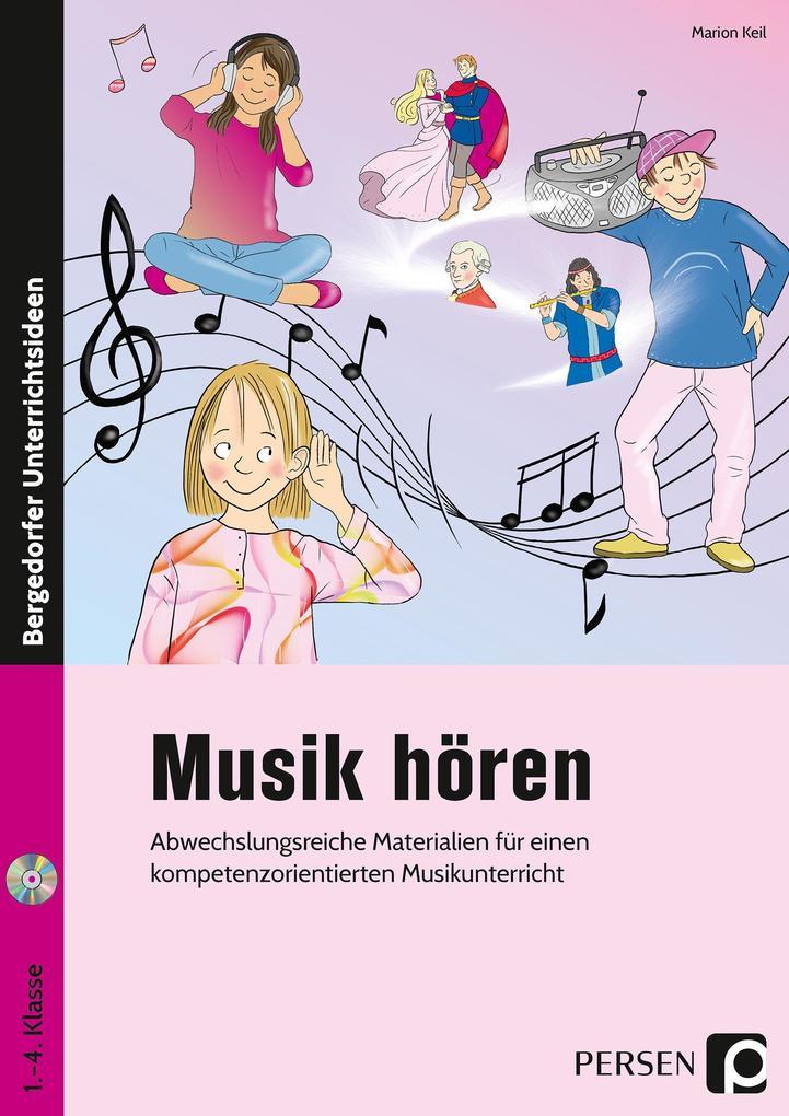 Musik hören als Buch von Marion Keil