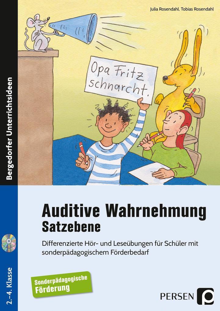 Auditive Wahrnehmung - Satzebene als Buch von J...