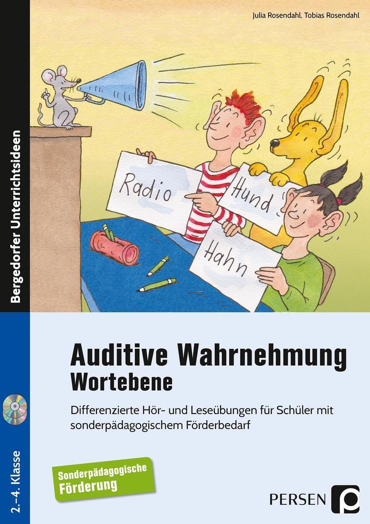 Auditive Wahrnehmung - Wortebene als Buch von J...