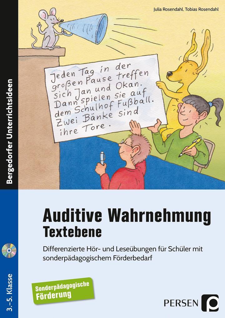 Auditive Wahrnehmung - Textebene als Buch von J...