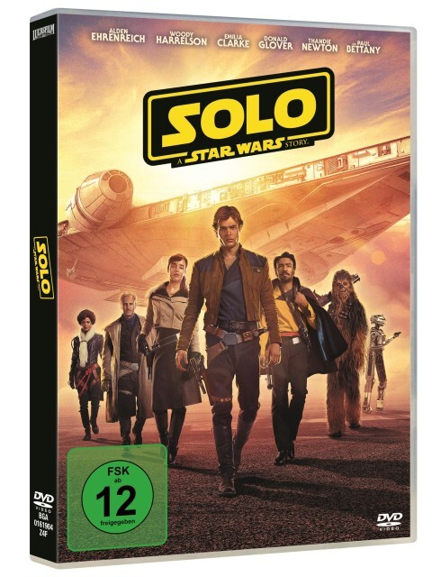 Solo: A Star Wars Story als DVD