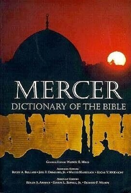 Mercer Dictionary of the Bible als Taschenbuch