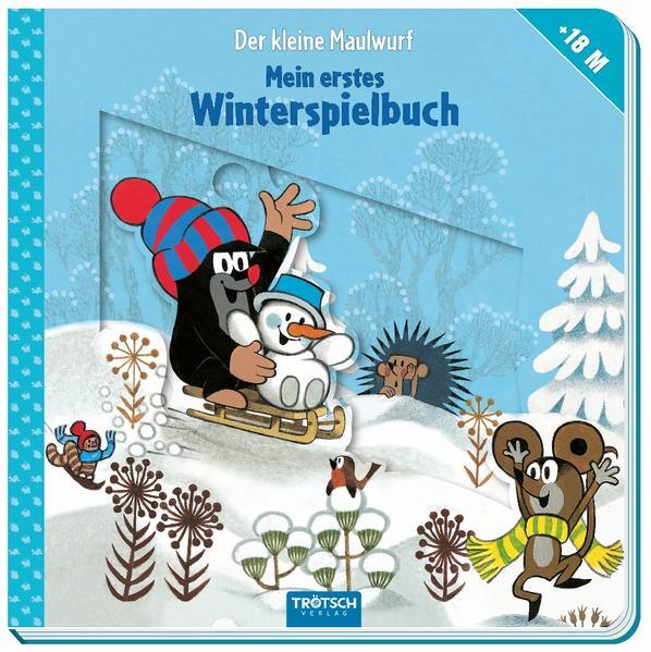 Der kleine Maulwurf - Winterspielbuch ab 18 Monaten als Buch