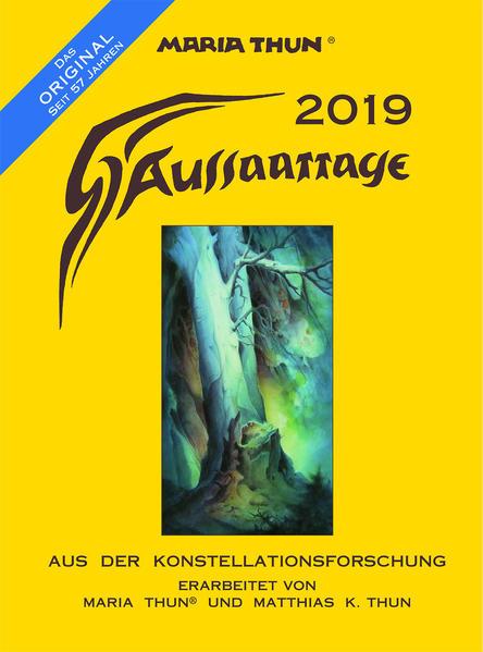 Aussaattage Maria Thun 2019 als Kalender