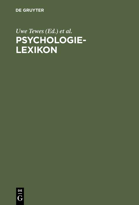 Psychologie-Lexikon als eBook Download von