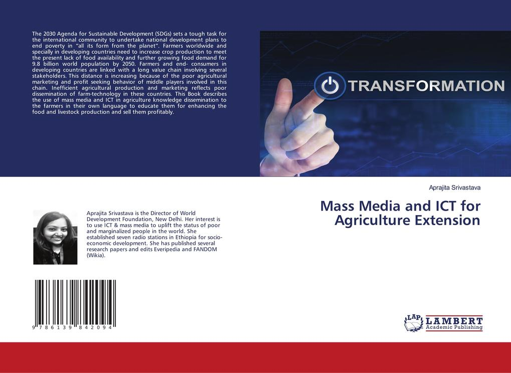Mass Media and ICT for Agriculture Extension als Buch (kartoniert)