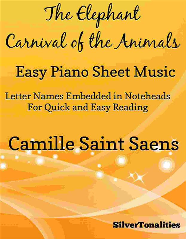 The Elephant Carnival of the Animals Easy Piano...