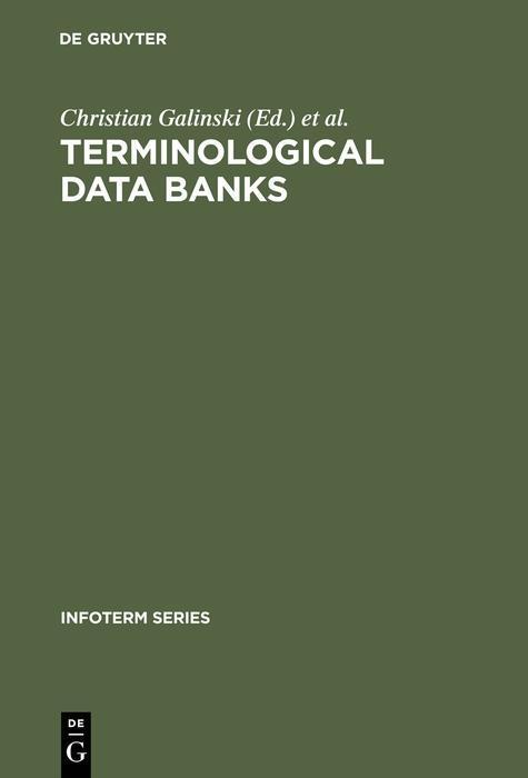 Terminological data banks als eBook Download von