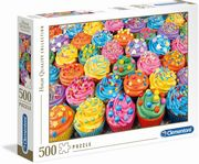 Clementoni - High Quality Collection - Bunte Cupcakes, 500 Teile