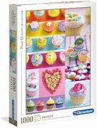 Clementoni - High Quality Collection - Süße Capcakes, 1000 Teile