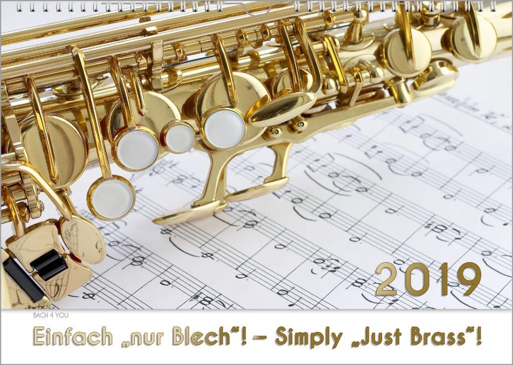 Blechinstrumente - Musik-Kalender 2019, A3