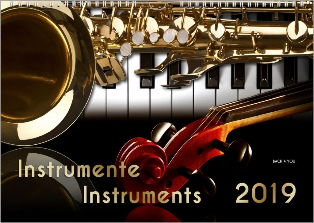 Instrumente - Musik-Kalender 2019, A3
