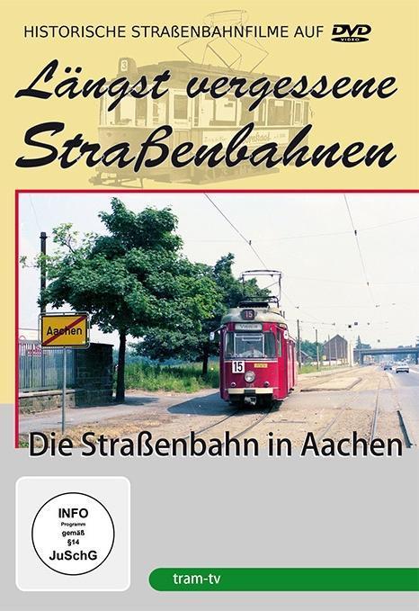 Die Straßenbahn in Aachen als DVD