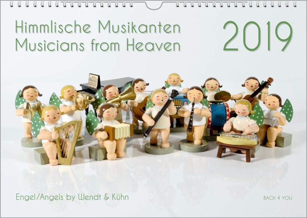 Engel-Kalender - Musik-Kalender 2019, A3