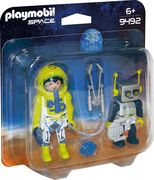 PLAYMOBIL 9492 - Space - Duo Pack Astronaut und Roboter