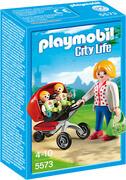 PLAYMOBIL - City Life - In der KiTa: Zwillingskinderwagen