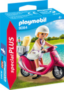 PLAYMOBIL 9084 - Special Plus - Strand-Girl mit Roller