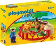 PLAYMOBIL 9378 - 1.2.3. - Löwengehege