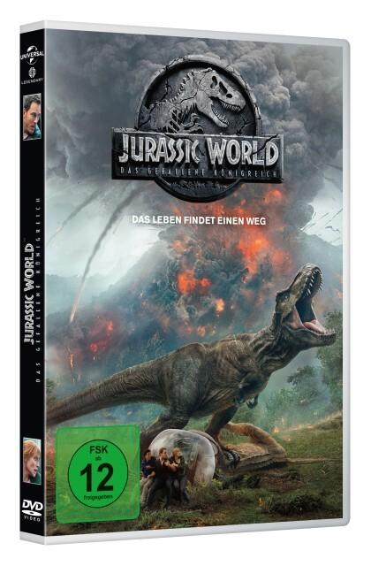 Jurassic World 2: Das gefallene Königreich als DVD