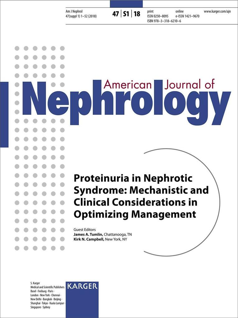 Proteinuria in Nephrotic Syndrome: Mechanistic ...