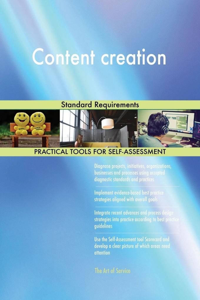 Content creation Standard Requirements als eBoo...