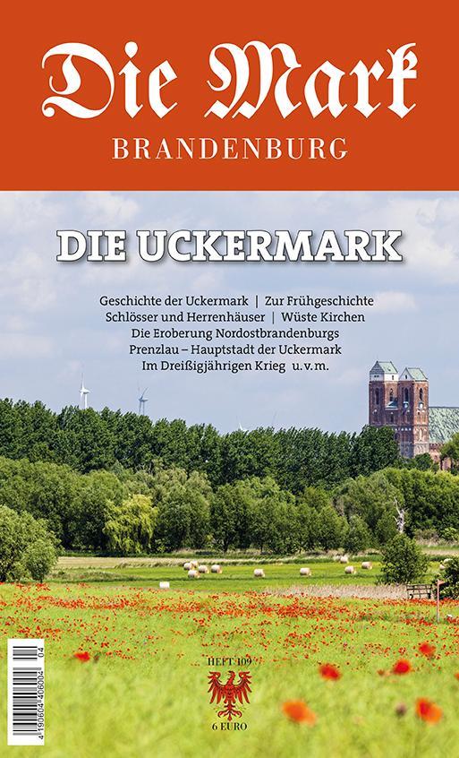 Die Uckermark als Buch von Dr. Sibylle Badstübn...