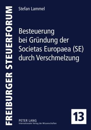 Besteuerung bei Gruendung der Societas Europaea...