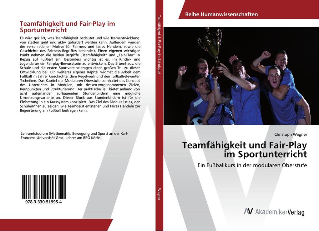Teamfähigkeit und Fair-Play im Sportunterricht ...
